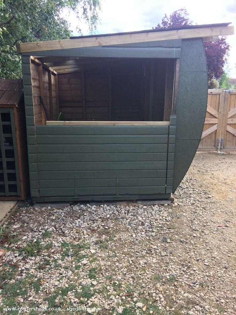 Photo of C130 Hercules , entry to Shed of the year