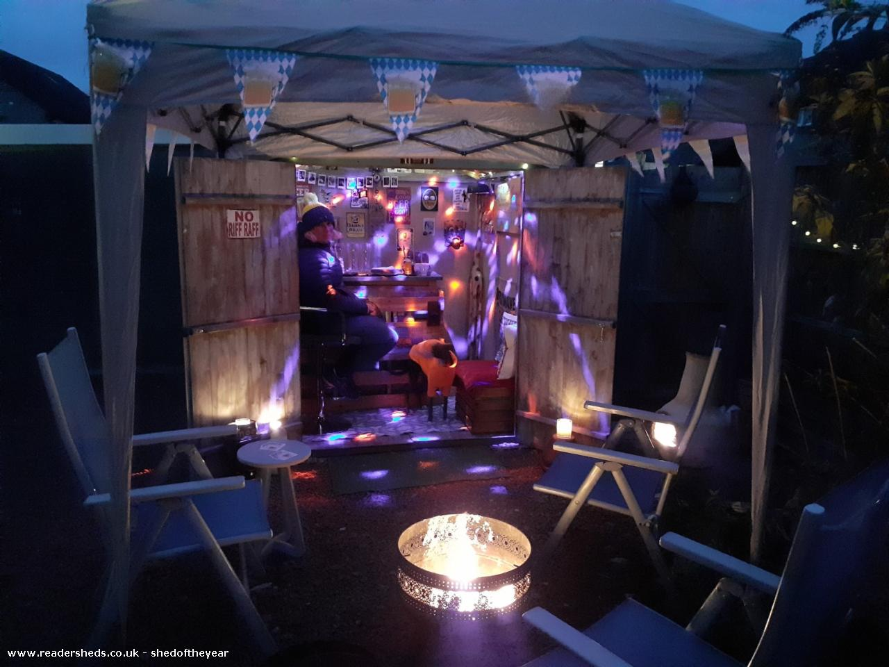 Photo of The Blue Whippet, entry to Shed of the year-Oktoberfest disco!