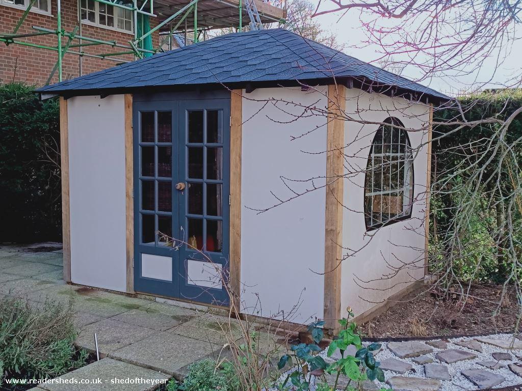 Photo of Honourable No. 1 Shed, entry to Shed of the year