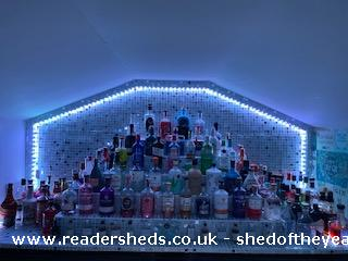 Photo of Leo's Bar & Spa, entry to Shed of the year-Gin