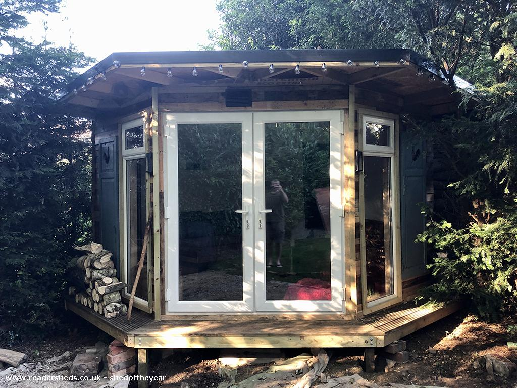 Photo of Lockdown Summerhouse, entry to Shed of the year-Exterior view