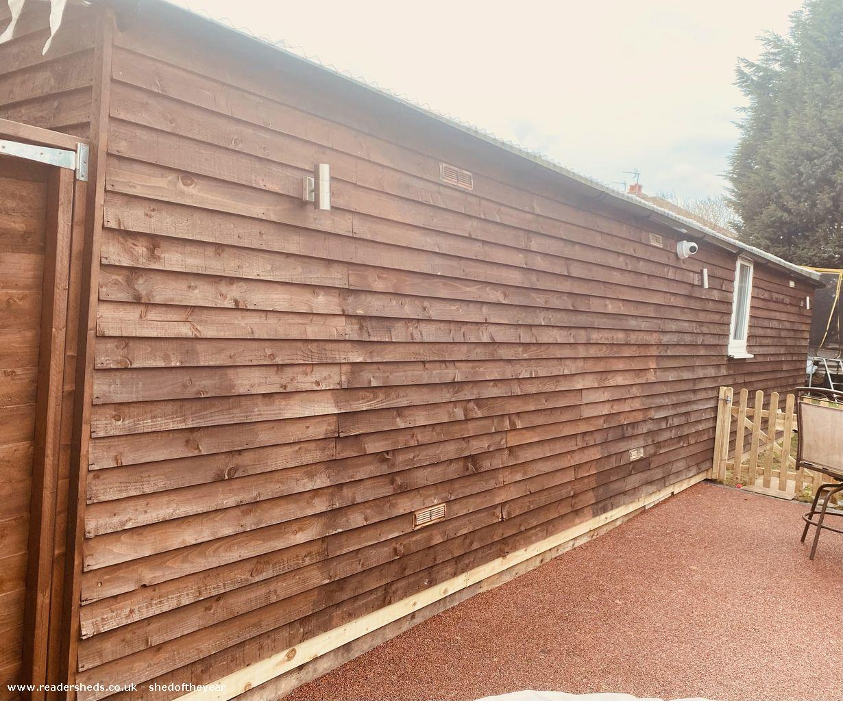 Photo of Cats Lodge, entry to Shed of the year