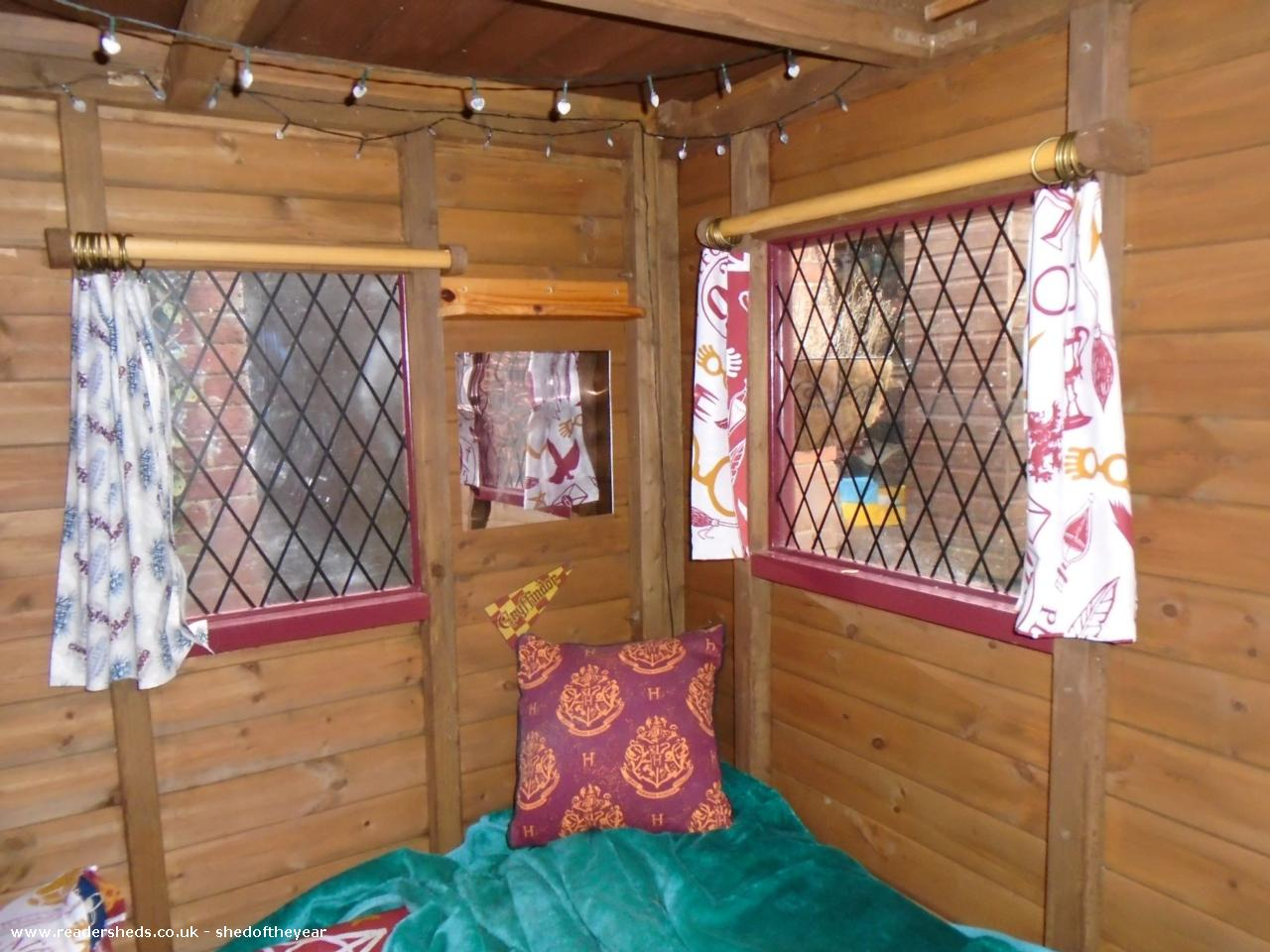 Photo of Ellie's Den, entry to Shed of the year-Main room