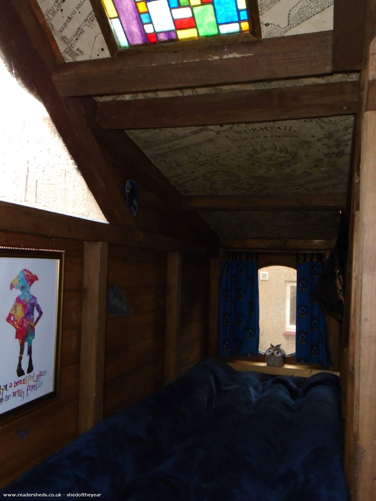 Photo of Ellie's Den, entry to Shed of the year