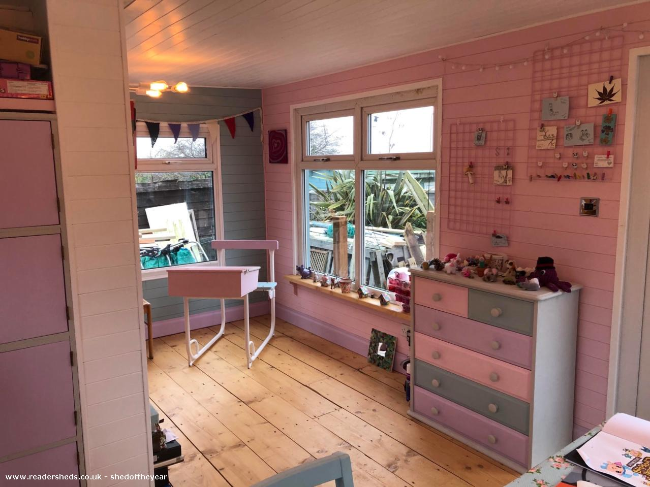 Photo of April and Ella's Escape Room, entry to Shed of the year