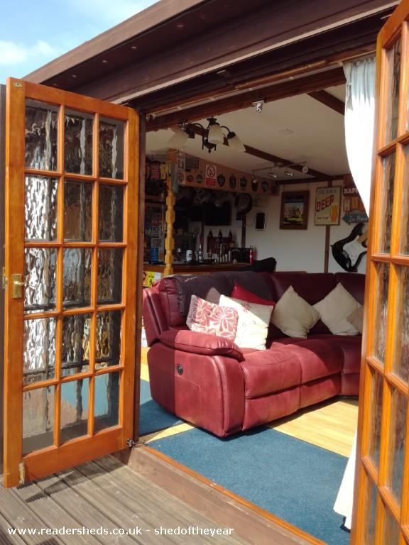 Photo of The Old Orchard, entry to Shed of the year-View from outside looking in