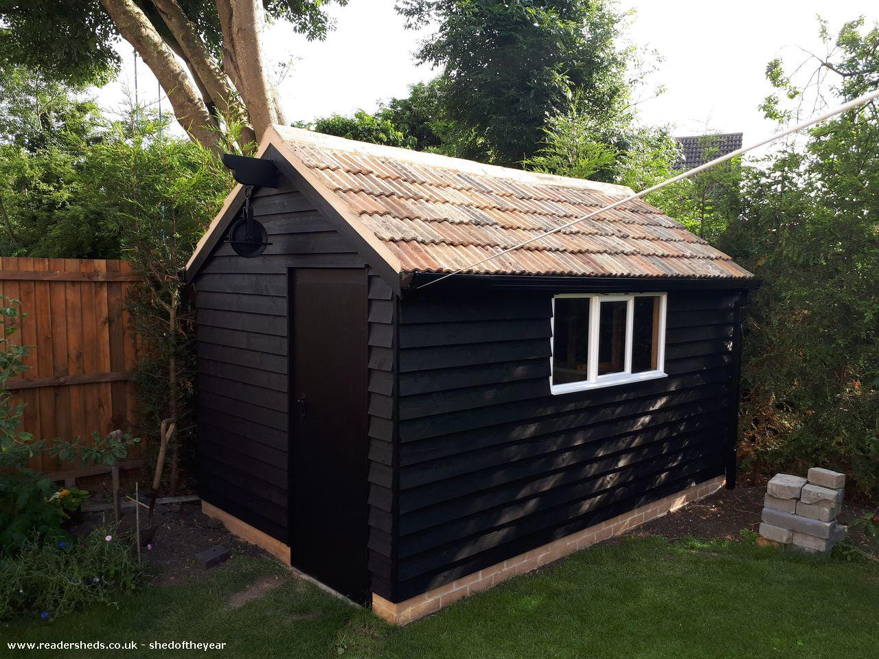 Photo of Barn shed, entry to Shed of the year