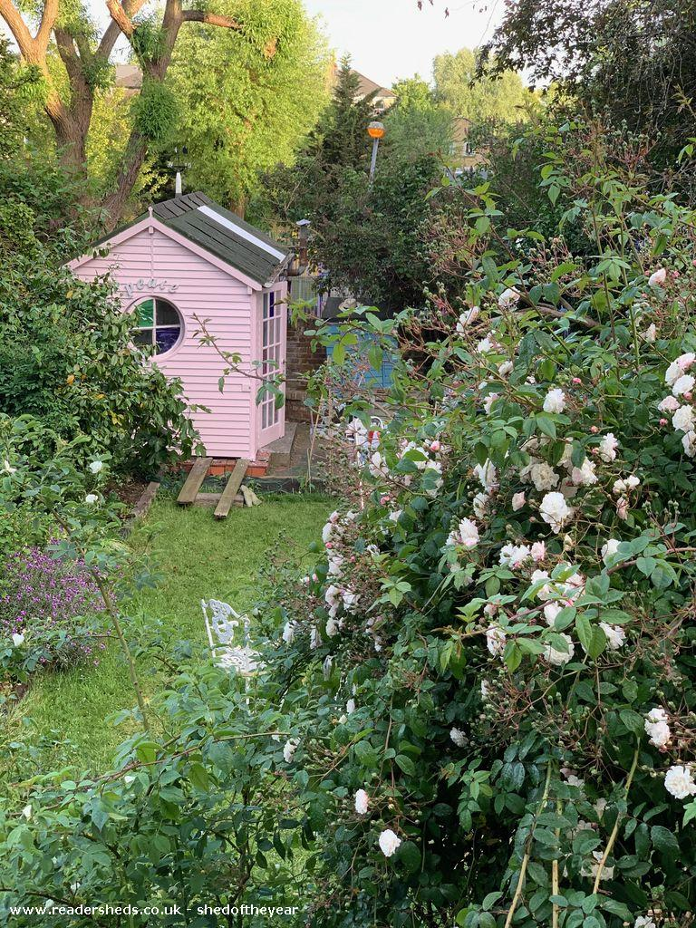 Photo of The summerhouse, entry to Shed of the year
