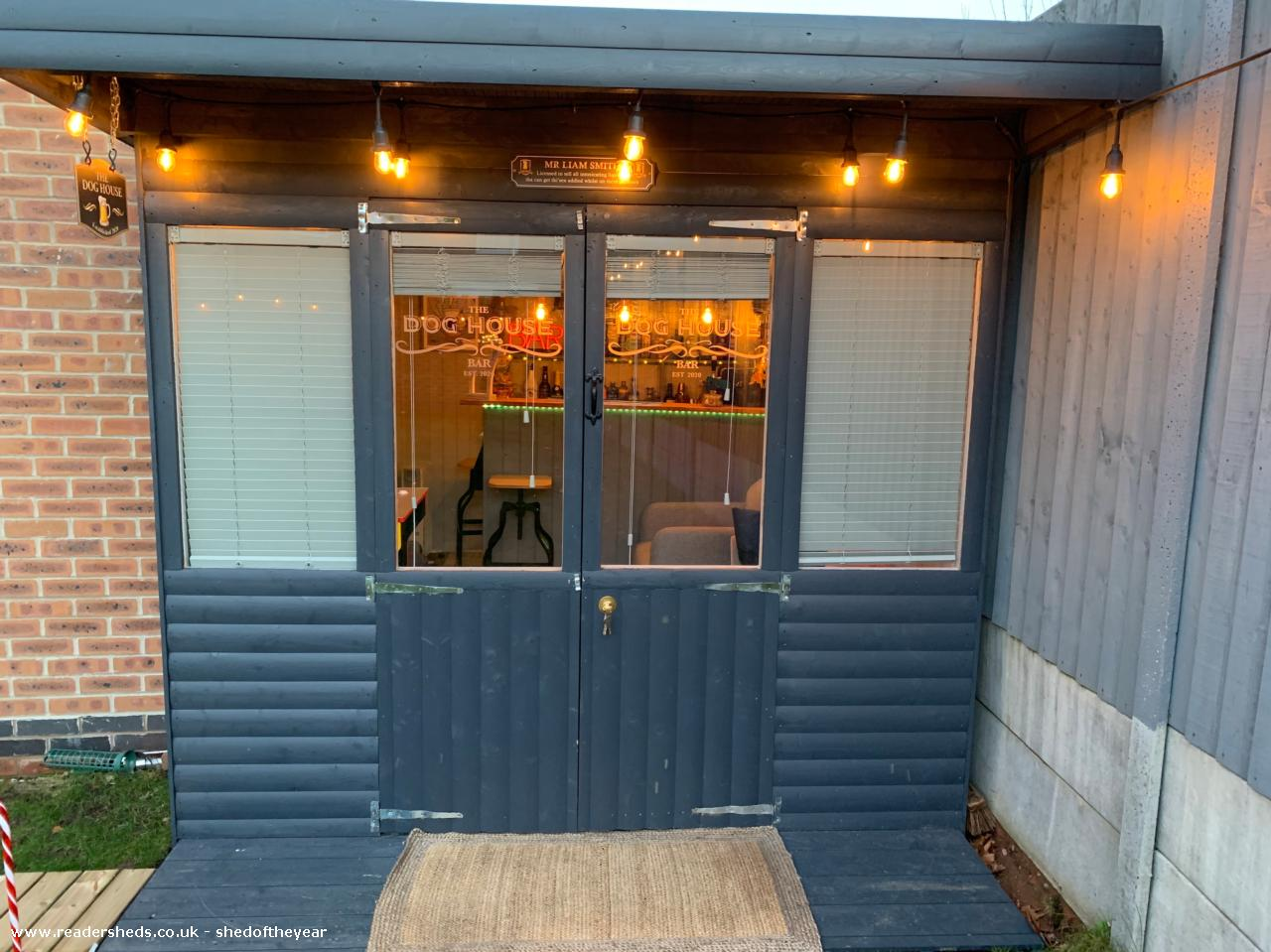 Photo of The Doghouse, entry to Shed of the year-Front View