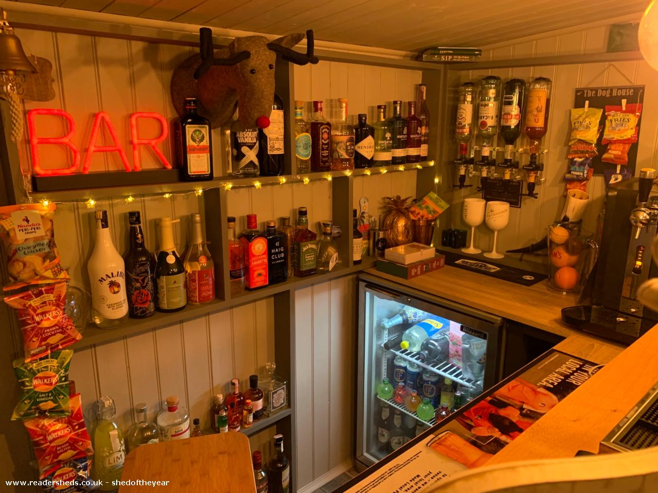 Photo of The Doghouse, entry to Shed of the year-Full service bar
