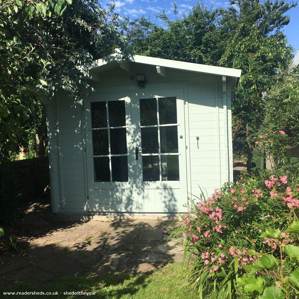 Photo of The Bra Boss of Kent HQ, entry to Shed of the year