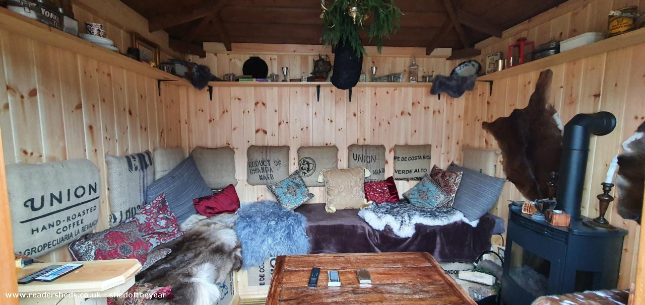 Photo of The Parlour @The Lady Shed, entry to Shed of the year-Inside