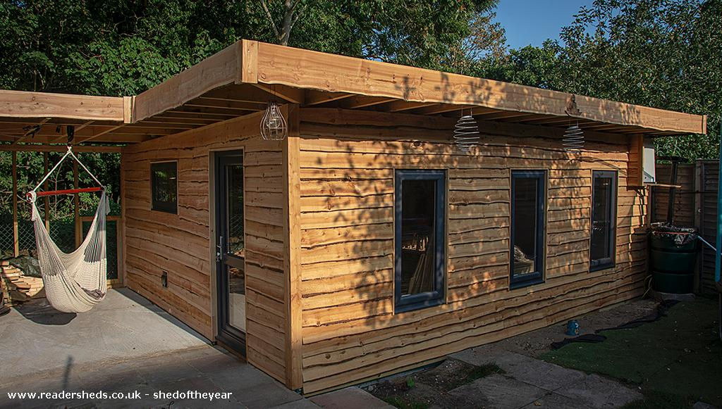Photo of The Yoga Cabin, entry to Shed of the year-External, freshly clad