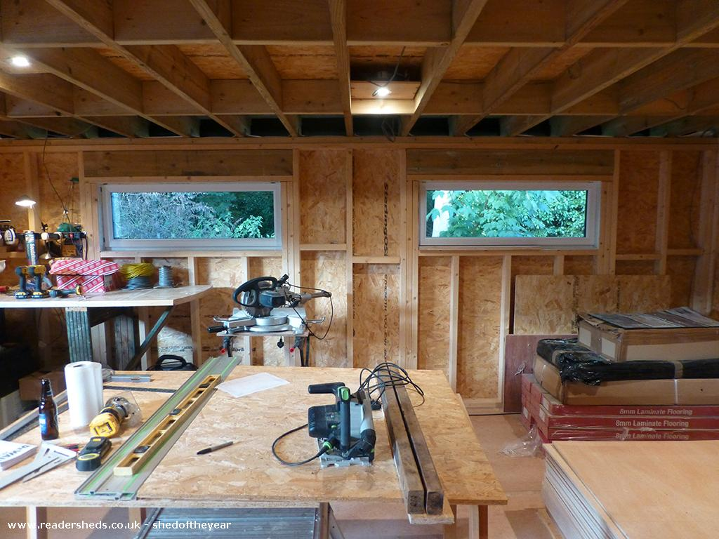 Photo of The Yoga Cabin, entry to Shed of the year-Temporary Workshop