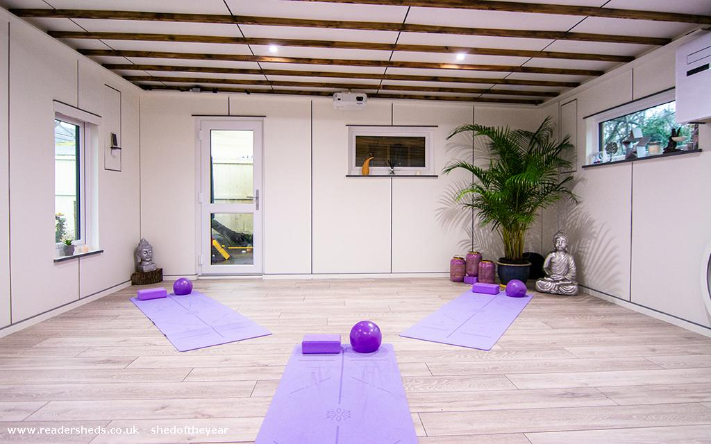 Photo of The Yoga Cabin, entry to Shed of the year-internal