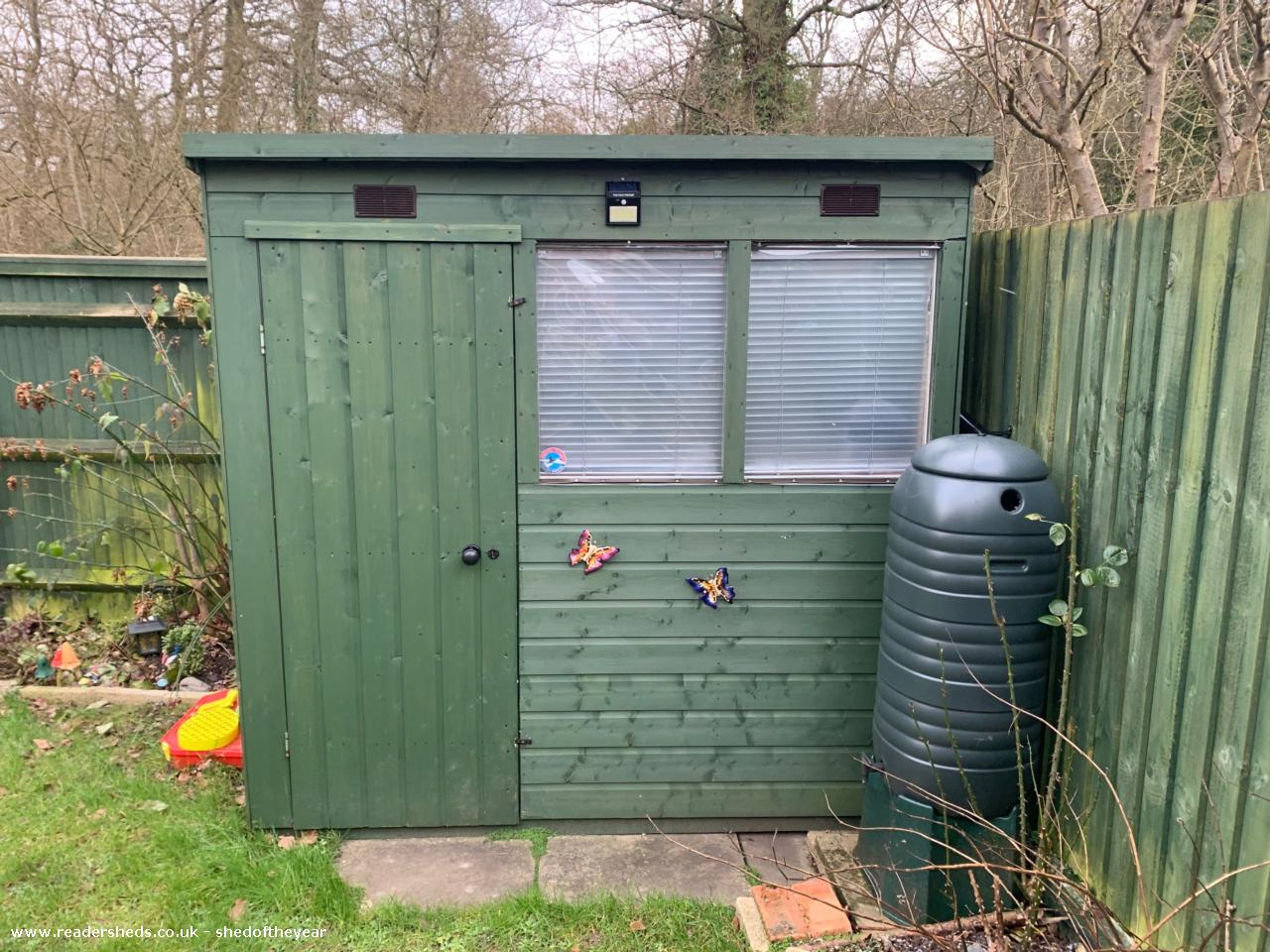 Photo of The Shoffice, entry to Shed of the year