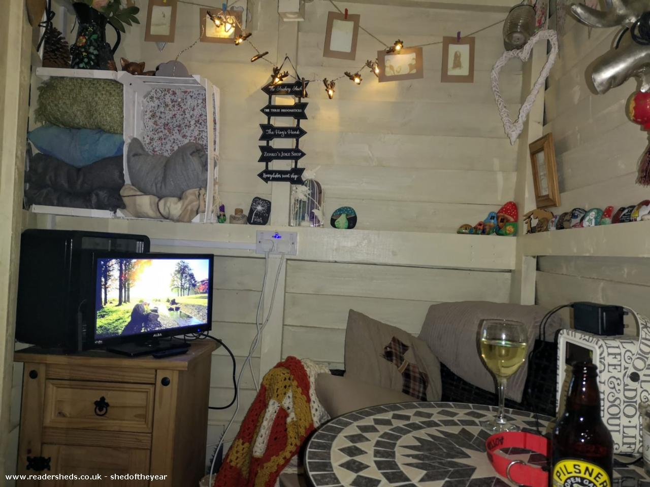 Photo of Roostag, entry to Shed of the year-Inside