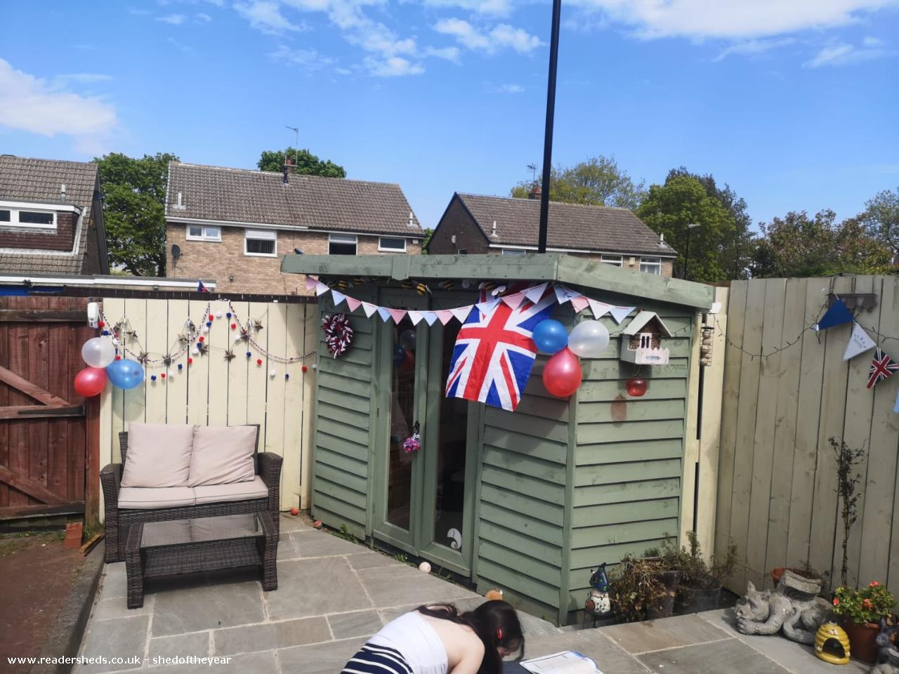 Photo of Roostag, entry to Shed of the year-Ve day