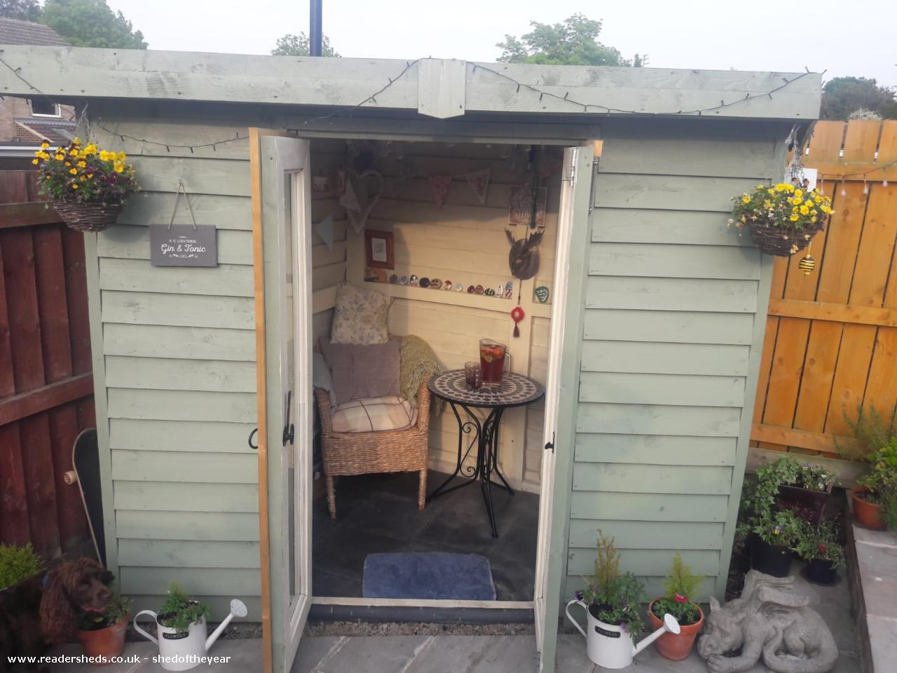 Photo of Roostag, entry to Shed of the year-Front view just after painting