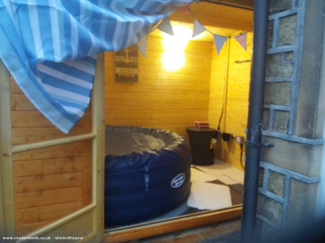Photo of Mandy's shed, entry to Shed of the year
