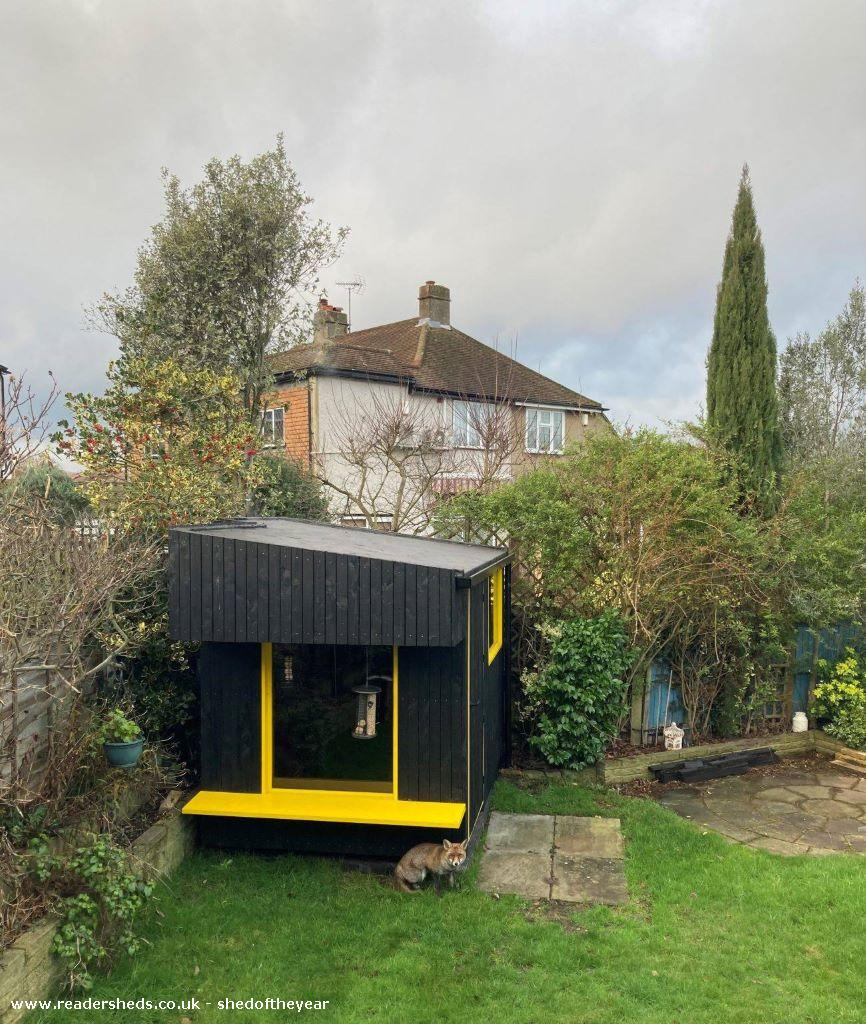 Photo of Carl's Shed, entry to Shed of the year-Shed with Mr Fox
