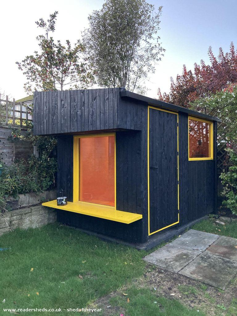 Photo of Carl's Shed, entry to Shed of the year