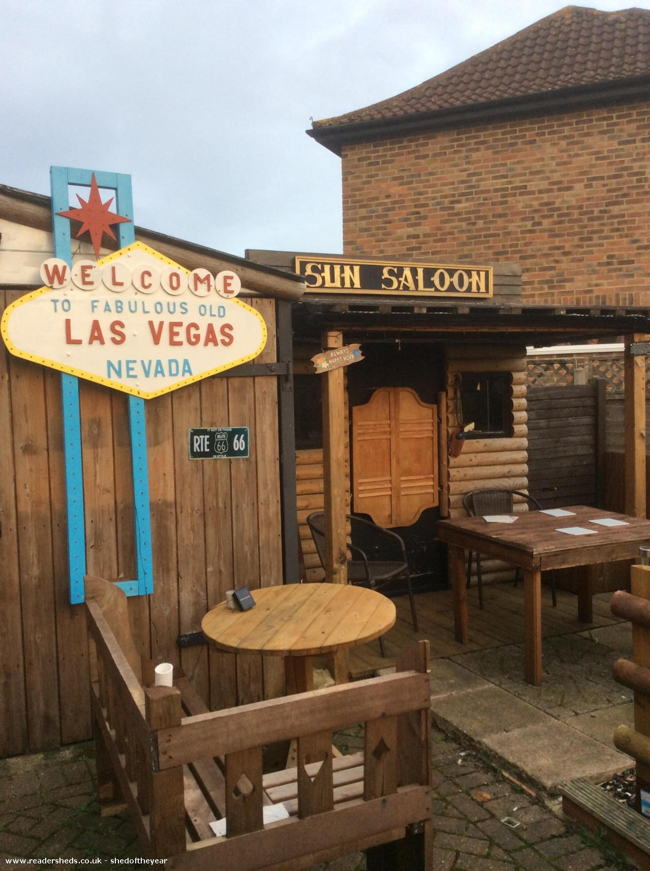 Photo of Vegas Saloon, entry to Shed of the year