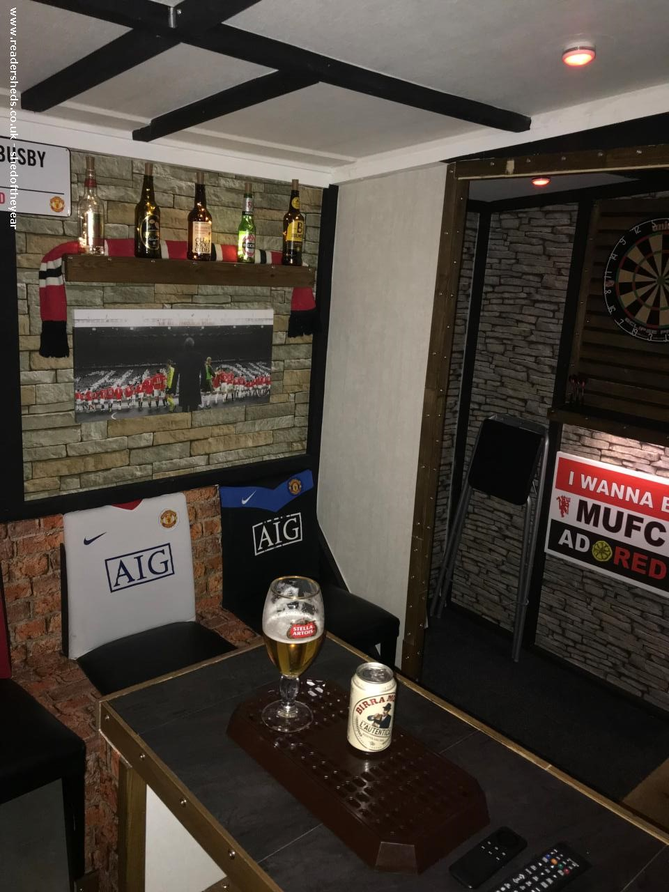 Photo of Trafford arms, entry to Shed of the year-Enjoy =M<<￾<↑