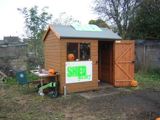 The SHED gallery